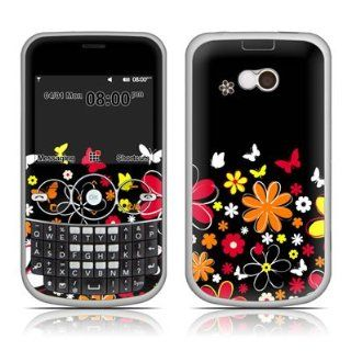 Laurie's Garden Design Protective Skin Decal Sticker for LG Gossip GW300FD Cell Phone Cell Phones & Accessories