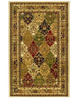 MANUFACTURERS CLOSEOUT Safavieh Area Rug, Lyndhurst LNH221A Multi/Ivory 4 X 6   Rugs