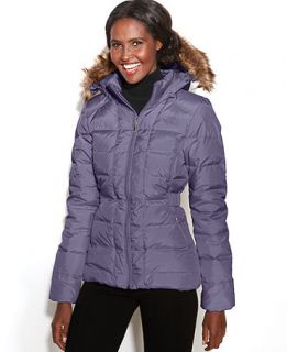 The North Face Coat, Gotham Hooded Faux Fur Trim Puffer   Coats   Women