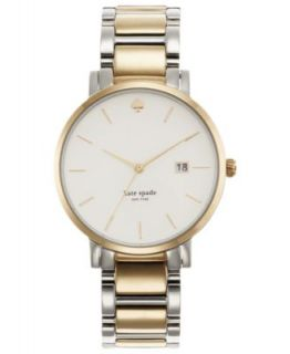 kate spade new york Watch, Womens Gramercy Two Tone Stainless Steel Bracelet 34mm 1YRU0005   Watches   Jewelry & Watches