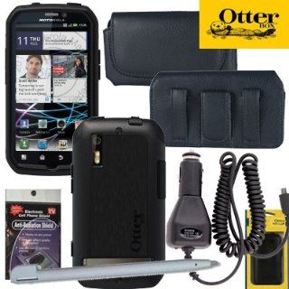 Otterbox Commuter Case for Motorola Photon Black with Heavy Duty Car Charger Cell Phones & Accessories