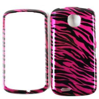 ACCESSORY HARD SNAP ON CASE COVER FOR PANTECH MARAUDER GLOSS HOT PINK BLACK ZEBRA Cell Phones & Accessories