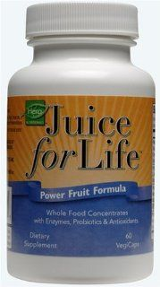 Juice for Life Power Fruit Formula, 60 Count VegiCaps Health & Personal Care