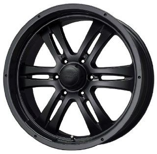 "MB Wheels Gunner 6 Matte Black Wheel (17x8""/6x139.7mm) Automotive"