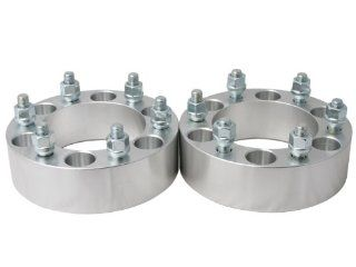 "2pc  1.5""  6x5.5 (6x139.7) Wheel Spacers  14x1.5 studs   for Cadillac Chevy GMC Trucks SUV Van Automotive"