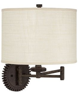 Pacific Coast Livingston Industrial Gear Swing Arm Wall Lamp   Lighting & Lamps   For The Home