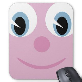 Cute Cartoon Happy Face Mousepad