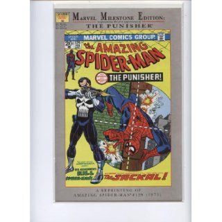 THE AMAZING SPIDER MAN MARVEL MILESTONE EDITION RE PRESENTING THE FIRST APPEARANCE OF THE PUNISHER (THE PUNISHER, #129) MARVEL COMICS Books