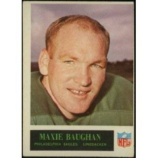Maxie Baughan Philadelphia Eagles 1965 NFL Football Trading Card (Philadelphia Chewing Gum) (#129) Philadelphia Eagles  Books