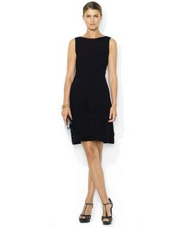 Lauren Ralph Lauren Sleeveless A Line Jersey Dress   Dresses   Women