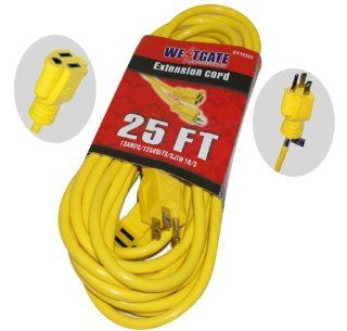 WESTGATE EX123 50 OUTDOOR EXTENSION CORD SJTW 3C/12AWG, 50 FT, 13A, 125V 50FT.