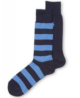 Ralph Lauren Mens Rugby Slack Polo Player Crew Socks 2 Pack   Socks   Men
