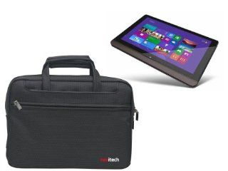 Navitech Black Ultrabook/ Laptop/ Notebook Case Cover Bag For The Toshiba Satellite U920t Windows 8 Tablet Computers & Accessories