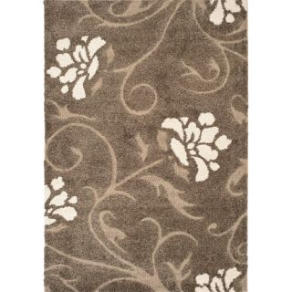 Safavieh Florida Shag Floral Vine Rug Decor