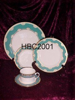 Lenox China Kate Spade Corona Grove Aqua 4   5 Piece Place Settings New in Box Dinnerware Sets Kitchen & Dining
