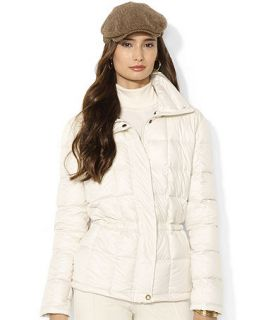 Lauren Ralph Lauren Petite Down Filled Quilted Jacket   Coats   Women