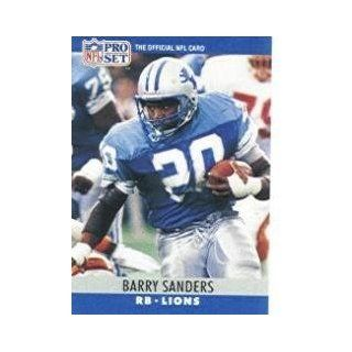 1990 Pro Set #102 Barry Sanders Sports Collectibles