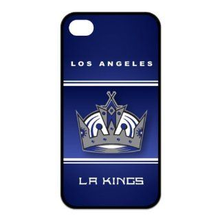 NHL Hockey Los Angeles Kings Team Logo Wearproof & Sleek iPhone4/4s Case Cell Phones & Accessories