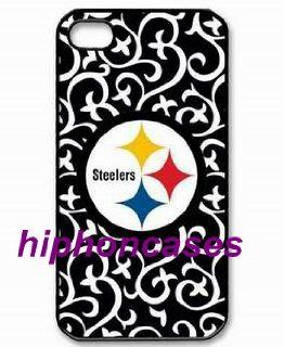 iPhone accessories iPhone 4/4s Cases Steelers logo label Cell Phones & Accessories