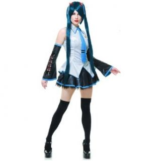 Charades Sexy Vocaloid Hatsune Miku Anime Cosplay Halloween Costume Adult Exotic Costumes Toys & Games