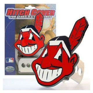 MLB Cleveland Indians Team Logo Hitch Cover  Sports Fan Automotive Accessories  Sports & Outdoors
