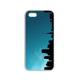 Iphone 5 Mobile Case DIY New Creative Cellphone Back Cover Scratchproof Cellphone Case with Creative Design Pictures Series Cool Backgrounds Dark Blue Sky Cell Phones & Accessories