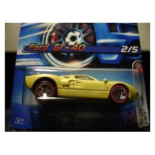 "Hot Wheels Ford GT 40 ""Red Line"" #97 (2006)"
