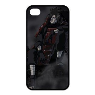 FindIt Japanese Anime Series Popular And Cool NARUTO Uchiha Madara Durable Rubber Case Cover For Iphone 4/4S Cell Phones & Accessories