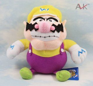 Supermario Game Animation Mario Plush Toy Wario 18cm Toys & Games