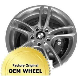 BMW 1 SERIES 18x7.5 5 DOUBLE SPOKES Factory Oem Wheel Rim  HYPER SILVER   Remanufactured Automotive