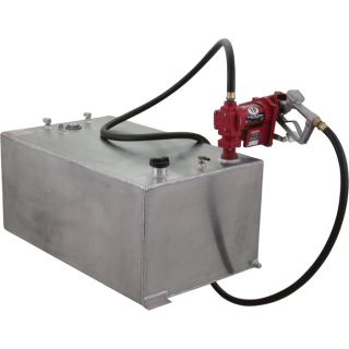 RDS Rectangular Auxiliary Transfer Fuel Tank — 55 Gallon, Smooth, Model# 71109  Auxiliary Transfer Tanks