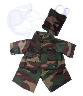 "Special Forces outfit Teddy Bear Clothes Fits Most 14""   18"" Build A Bear, Vermont Teddy Bears, and Make Your Own Stuffed Animals Toys & Games"