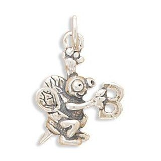 Sterling Silver Spelling Bee Charm Bead Charms Jewelry
