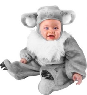Unique Infant Baby Koala Bear Animal Costume (6 12 Months) Clothing