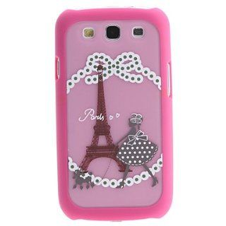 Rayshop   Eiffel Tower Pattern 2 in 1 Detachable Hard Case for Samsung Galaxy S3 I9300 Cell Phones & Accessories