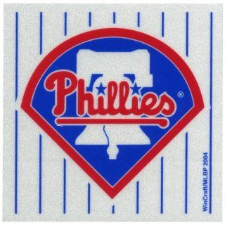Philadelphia Phillies   Logo Reflective Decal  Automotive Decals  Sports & Outdoors
