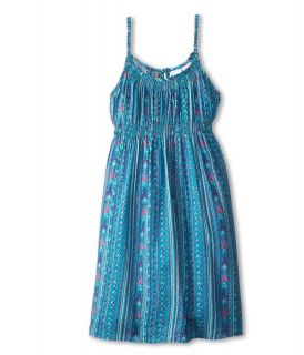 Roxy Kids B Sides Tank Dress Girls Dress (Blue)