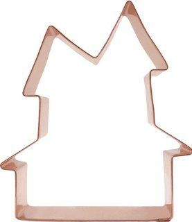 Halloween Haunted House Copper Cookie Cutter Kitchen & Dining