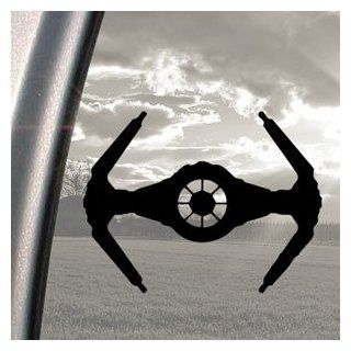 Star Wars TIE Fighter Black Decal Truck Window Sticker Automotive