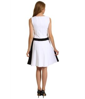 Calvin Klein Fit & Flare Colorblock Sheath Dress
