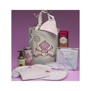 New Baby Girl Personalized Gift Basket  Gourmet Gift Items  Grocery & Gourmet Food