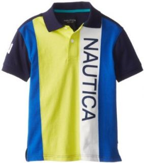 Nautica Boys 8 20 Pieced Pique Polo Shirt Clothing