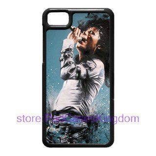 BlackBerry Z10 cover hard case with popular star Michael Jackson background designed by padcasekingdom Cell Phones & Accessories