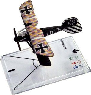 Wings of War Series 1 Miniature Albatross D. Va (Udet) Toys & Games