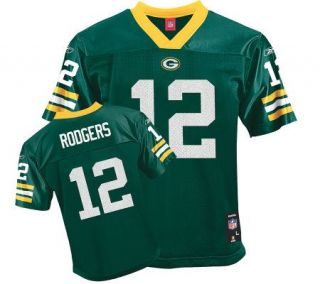 NFL Green Bay Packers Aaron Rodgers Girls Replica  Jersey —