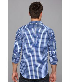 Lucky Brand Rigley Plaid 1 Pocket #458 Blue