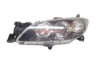 OE Replacement Mazda Mazda3 Passenger Side Headlight Lens/Housing (Partslink Number MA2519113) Automotive