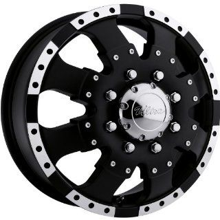 Ultra Goliath Dually 17 Black Wheel / Rim 8x6.5 with a 129mm Offset and a 130 Hub Bore. Partnumber 023 7681FB Automotive