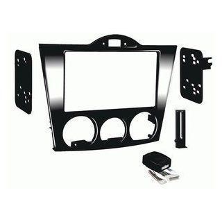Metra 95 7510HG Double DIN Installation Dash Kit for 2004 2008 Mazda RX8  Vehicle Receiver Universal Mounting Kits