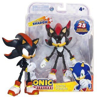 "Shadow Super Poser Sonic The Hedgehog ~7"" Action Figure Series [2013 Edition] Toys & Games"